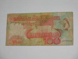 100 One Hundred Rupees - Central Bank Of Seychelles  - SEYCHELLES -  **** EN ACHAT IMMEDIAT **** - Seychelles