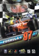 Automobile AUTO F1  FORMULA 1 97 (CP Représentant La Pochette Du Jeu Formula 1 Playstation) *PRIX FIXE - Grand Prix / F1
