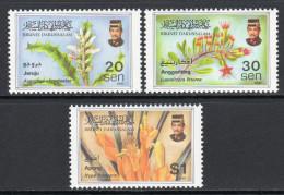 BRUNEI. 1997 MANGROVE FLOWERS SET MNH. - Brunei (1984-...)
