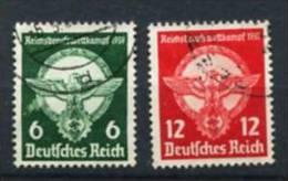 Deutsches Reich 689/90 O - Oblitérés