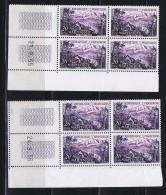 Martinique  Yv 1041 2 Coins Datés 21.9.55 Et 24.9.56  Les 2 ** - Coins Datés