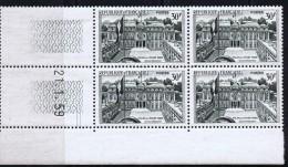 Palais De L'Élysée  30 Fr Yv 1192  Coin Daté Du 21.1.59  ** - Coins Datés