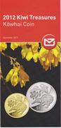 New Zealand 2011 Kiwi Treasures 2012 - Kowhai Coin - Materiaal