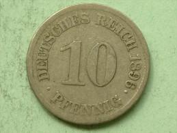 1914 G - 10 Pfennig / KM 12 ( Uncleaned Coin - For Grade, Please See Photo ) !! - [ 2] 1871-1918: Deutsches Kaiserreich