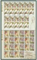 China 2002-7 Strange Story Stamps (II) Sheets Moon Sword Chrysanthemum - Blocks & Sheetlets