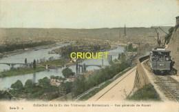 Cpa 76 Bonsecours, Collection Des Tramways,  Carte Colorisée Pas Très Courante - Bonsecours