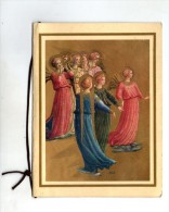Carte 4 Volets , ANGES MUSICIENS , MUSICIAN ANGELS , Art , Fra Angelico , Musée San Marco , Florence - Anges