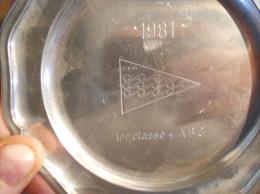 TROPHE NAUTIQUE  VOILE / 2 SOUCOUPES ETAIN / CVM 1981 +CVL CHAMPIONNAT SUISSE - Non Classés