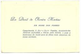 Portuguese 1964 Calendar - P.e David De Oliveira Martins - Calendriers