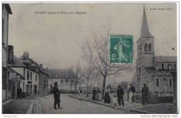 Doyet Place De L´église Cpa Bon état - France