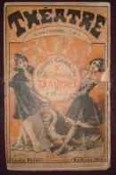 L'Arlésienne N°1 - Alphonse Daudet - N°178 - Théâtre 1 - Fayard - Vers 1890 - Théâtre