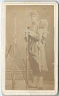 Photo de Soldat/ Voltigeur ou Fusillier de R�giment etranger? France/ Vers 1860     PH184