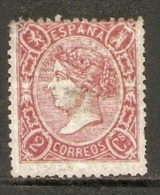 1865 EDIFIL  74 NUEVO - Unused Stamps