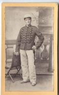 Photo de Soldat en pied/ 3�me  Dragon ? / France/ Vers 1890-1900 ?     PH185