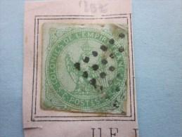 Timbres Des Colonies De L' Empire Français La Réunion Cote 20  Euro >2éme Choix Sur Fragment Vendu En L'etat Voir Sca - Réunion (1852-1975)