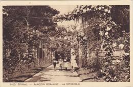Cp , 88 , ÉPINAL , Maison Romaine , La Roseraie - Epinal