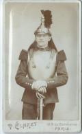 Photo de Soldat en pied/1er r�giment de Cuirassier ? / France/ Vers 1890-1900 ?     PH186