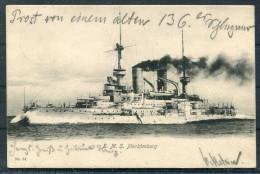 1905 Marine S.M.S. Mecklenburg Kiel - Lockstedter Lager Schleswig-Holstein - Briefe U. Dokumente