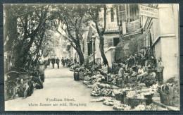CHINE - CHINA - HONG KONG - Wyndham Street / William Powell Dressmakers & Milliners Sternberg Postcard 7709 - China (Hong Kong)