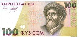 KYRGYZSTAN 100 Som  P-12 ND (1994)  **UNC** - Kirghizistan