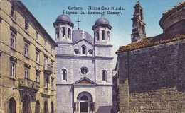 KOT211  --   CATTARO  -  KOTOR    --   CHIESA SAN NICOLO - Montenegro