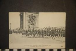 CP, Militaria, Guerre, Les Fetes De La Victoire A Paris 14 Juillet 1919 Le Défilé Marins Américains - Oorlog 1914-18