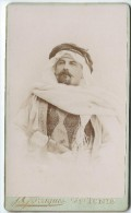 Photo Buste De Militaire/4 éme Spahis? /Garrigues/ Tunis/Tunisie/Vers 1890    PH187 - War, Military