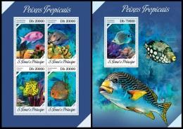 st13610ab S.Tome Principe 2013 Fish 2s/s