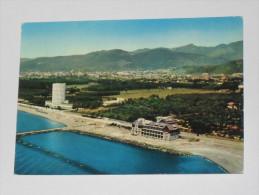 MASSA CARRARA - Marina Di Carrara Dall´ Aereo - 1965 - Colonia Marina Fiat E Alpi Apuane - Carrara