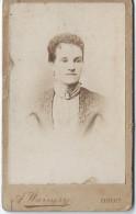 Photode Femme/ Buste / Albert Warnery/Elbeuf/JH Nacinet/Paris/Vers 1880   PH192