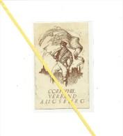 AK Corsphil. Verband Augsburg - Studentika - Gelaufen - Mitte Unten Ca. 2cm Riss - Non Classés