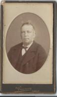 Photo d�Homme m�r/ Buste / Albert Warnery/Elbeuf/Vers 1885   PH197