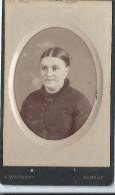 Photo de femme / Buste / Albert Warnery/Elbeuf/Vers 1885   PH198