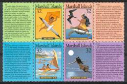 1995 Marshall Fiabe Fables Leggende Legends Lègendes Set MNH** B496 - Fairy Tales, Popular Stories & Legends