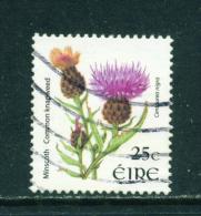 Wholesale/Bundleware  IRELAND  2004+ Flower Definitive  Common Knapweed  25c  23x26mm  Used X 10  CV +/-  £4 - 1949-... Republic Of Ireland
