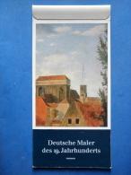 Deutsche Maler Des 19.Jahrhunderts 1985 Kalender - Postcards - Calendar - Germany - 1985 - Unused - Grand Format : 1981-90
