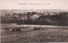 SAINT SULPICE  VUE PANORAMIQUE SUR LA VALLEE - France