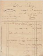 Gard, Nîmes, Manufacture De Chaussures A. Say 1916 - Textile & Clothing