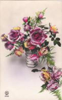 Carte Postale Ancienne Fantaisie - Fleurs - Roses - Sin Clasificación