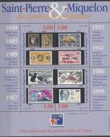 BLOC DE  SAINT PIERRE Et MIQUELON PHILEXFRANCE 99 - N° 6 - NEUFS** - 1999 -cote 11.50€ - Blocks & Sheetlets