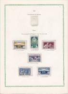 Série 210/215 * Exposition Universelle  1824  Dans Page D´album - Unused Stamps