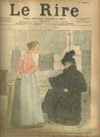 JOURNAL LE RIRE HUMOUR POLITIQUE ILLUSTRATEUR HUARD  VOGEL DESSIN PUBLICITE - 1850 - 1899
