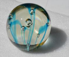 Sulfure, Presse-papier, Poids 440 Grammes, Diametre Environ 6,5 Cms - Verre & Cristal