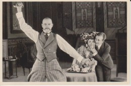 GERMAN MOVIE CIGARETTE CARD 1920's CINEMA Actor PAUL WESTERMEIER Actress HANNE BRINKMANN - Zigarettenmarken