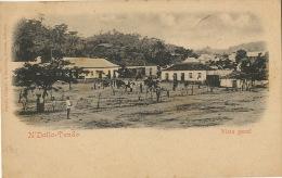 N' Dalla Tando Vista Geral Edit. Osorio Delgado Et Bandeira Loanda Pionniere Timbre - Angola