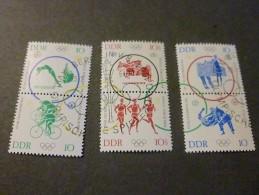 DDR 1964 Michelnr 1039/44 Used Olympic Games - [6] République Démocratique