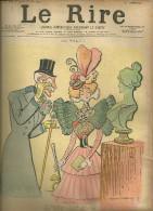 JOURNAL LE RIRE HUMOUR POLITIQUE ILLUSTRATEUR LUCIEN METIVET HISTOIRE  DESSIN PUBLICITE - 1850 - 1899