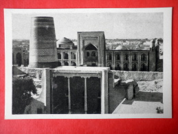 Amin-khan Madrasah And Kalta-minor - Khiva - Architectural Monuments Of Uzbekistan - 1964 - USSR Uzbekistan - Unused - Uzbekistan