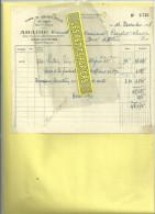 70 - Haute-saône - PORT-D'ATELIER - Facture ABADIE - Vins Et Spiritueux En Gros – 1948 - France