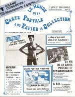 Le Monde De La Carte Postale Et Du Papier De Collection 1981 - Français